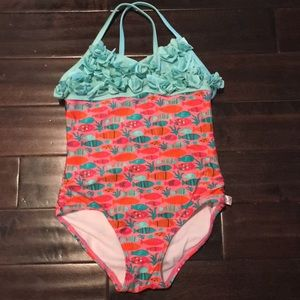 American Girl wellie wisher swimsuit size 5